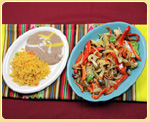 Chicken or Beef Fajitas